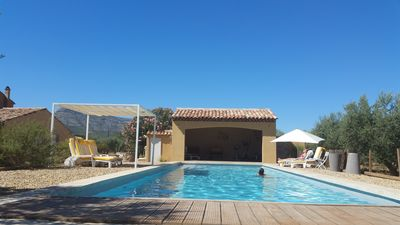Photo for CHARMING MAS CLIMATED + HEATED GIANT SWIMMING POOL 10 'FROM THE SEA OF CASSIS