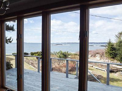 View of the water from the cottage