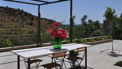 Photo for Unique Flat with garden & incredible view in the heart of NOTO
