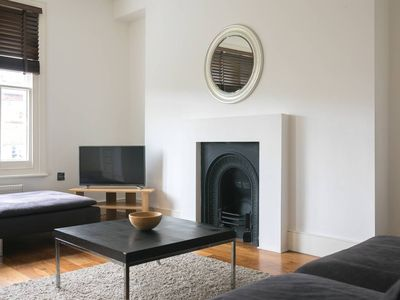Photo for Modern 2BR in Swiss Cottage (5 mins to Baker St) - Two Bedroom Apartment, Sleeps 4