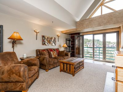 Photo for Cozy condo w/ shared hot tub and easy access to Big Sky Ski Resort!