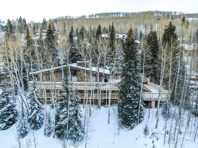 Photo for Vail Village, Forest Road, Walk to Slopes, Outdoor Pool & Hot Tub