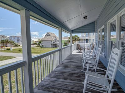 Photo for Kaitlyn's Korner – Ocean view home close to the beach large wrap around decks