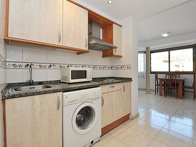 Photo for Apartment 600 m from the beach, air conditioning, 4 people, WI-FI