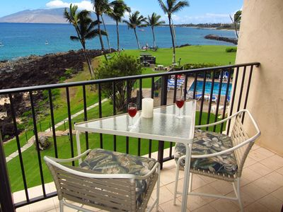 Enjoy your morning coffee of sunset cocktails on the private lanai