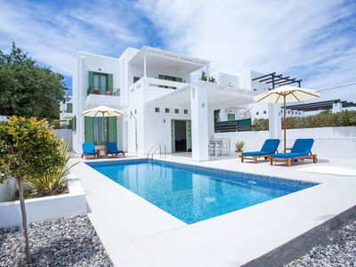 Photo for Early Bird 10% Discount for 2020! Luxury Villa with private pool near village!!