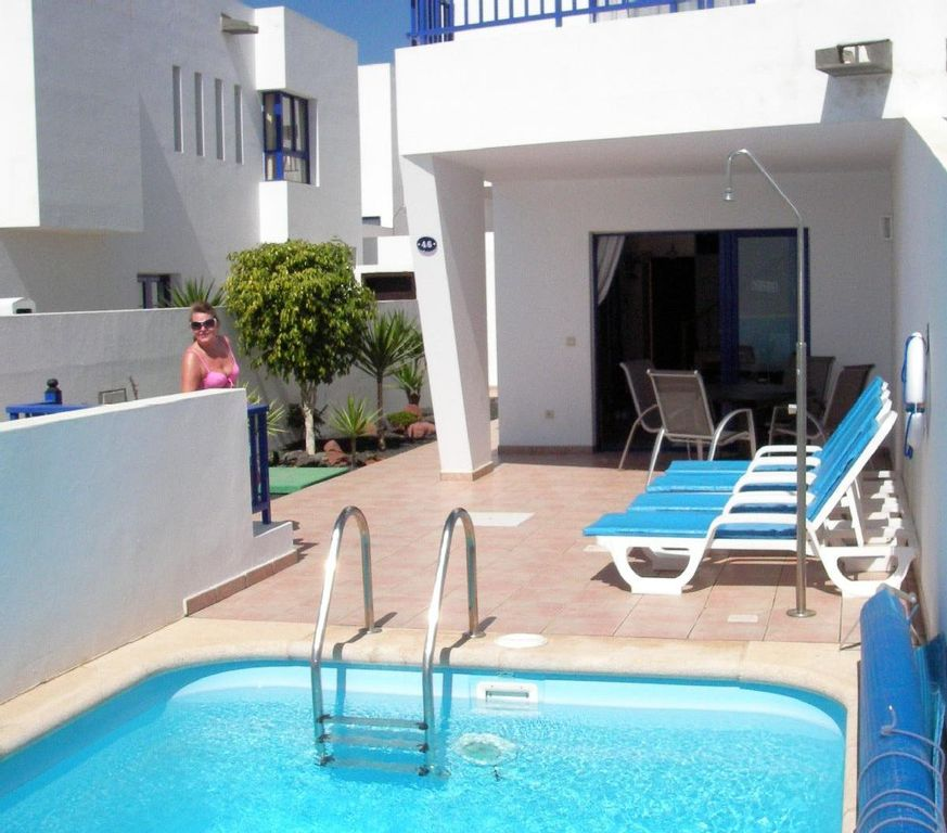 Playa Blanca Villa Rental   Sun Drenched South Facing Patio Also With Shade