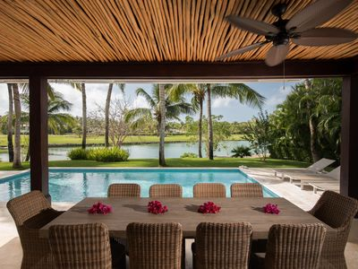 Jaguey 8 Luxury Villa with Pool  housekeeper & Golfcart.
