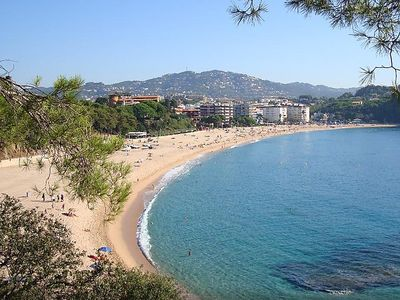 Photo for Lloret de Mar Apartment, Sleeps 4 with Pool, Air Con and Free WiFi