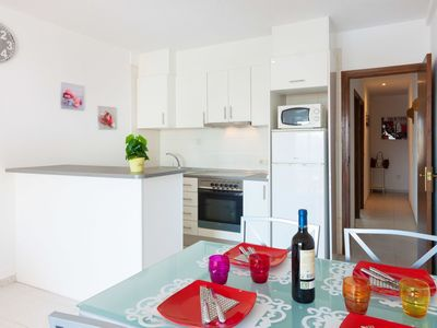 Photo for Lovely apartment for 4 guests with pool, WIFI, TV, balcony and pets allowed