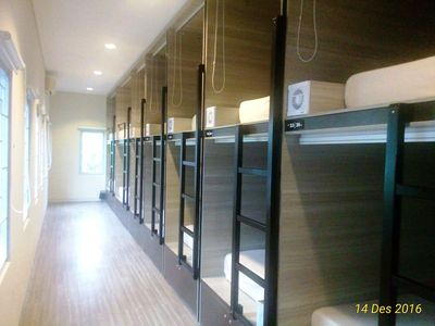 Photo for Bed and Locker in 14 Male Dormitory Room