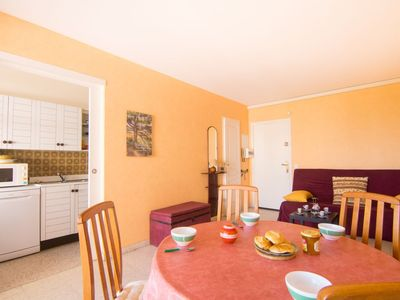Photo for Apartment 665 m from the center of Fréjus with Internet, Parking, Terrace, Washing machine (485983)
