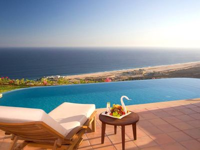 Photo for 3-Bedroom Ocean View Villa in Cabo San Lucas - Three Bedroom Villa, Sleeps 10