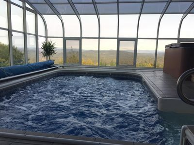 Photo for Amazing Views, Heated Indoor Pool and Spa, Skiing, 5 bdrms 3 full & 2 half baths