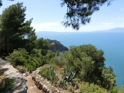 Photo for Peninsula with villa in the nature park, completely secluded and absolutely quiet.