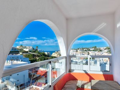 Photo for NEW LISTING! Bright, spacious, sea view! 3 minute walk to beach!