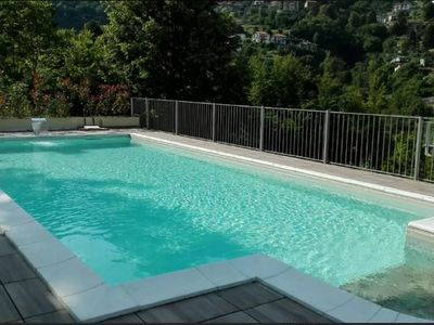 Photo for A3 / Lake Como, residence Felice 72 with pool, amazing view