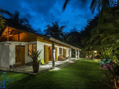 Photo for Our Beachfront Bungalow in Punta Uva
