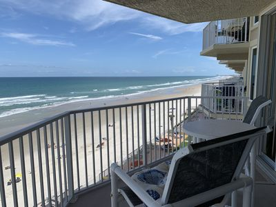 Photo for Oceanfront Shores Club Condo - 6th Floor with Gorgeous Ocean Views