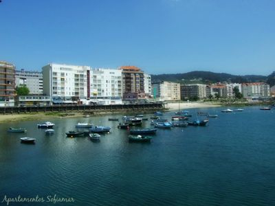 Photo for Spacious and bright apartment in the center of Sanxenxo