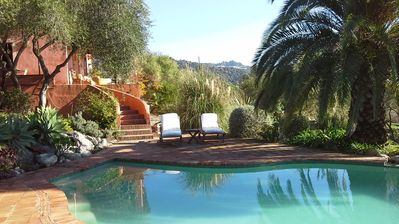 Photo for romantic retreat with magnificant views,pool and WIFI