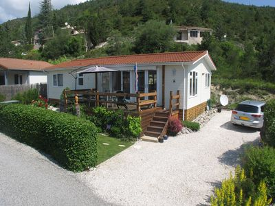 Photo for Chalet sleeping 4 people near Gorges du Verdon in Provence mountains