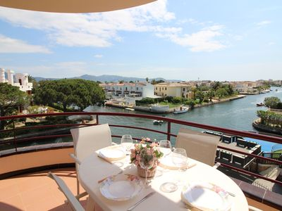 Photo for Apart-Rent-Apartment at the canal with large terrace (0138)