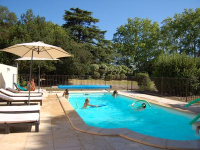 Photo for Chalet in large garden of Domaine near Valras Plage