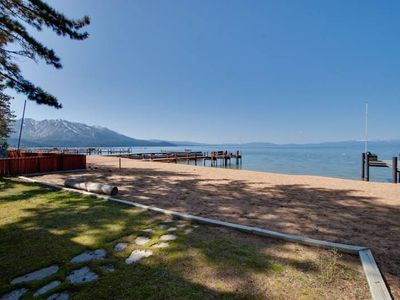 Photo for Luxury Lake Front Home with a Private Beach (JB03)