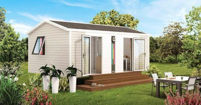 Photo for Camping La Marmotte ** - Mobil Home Bahia Solo Modulo 2 Rooms 2 People