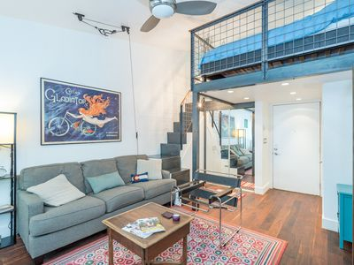 Photo for Walk Everywhere In Town From This Charming, Convenient Remodeled Studio Loft.