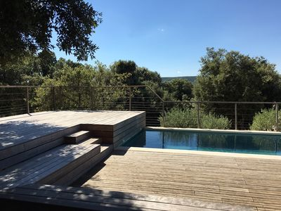 Photo for Loft with pool quiet, close to nature 10 minutes from Montpellier