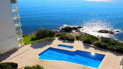 Photo for DELFIN BEACH Studio, terrace, pool sea view, private access sea.