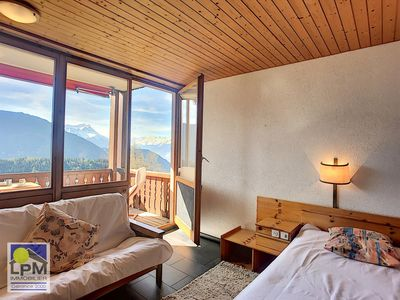 Photo for Colina 100 Large studio (47m2) for 2 adults, well located close to the skilift and to 5 walking minu