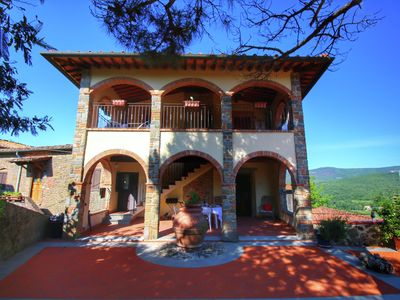 Photo for Attractively furnished apartment on a large estate in the Chianti region