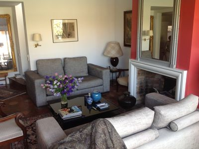Photo for comfortable apartment with terrace on the Place aux Herbes in the heart of Uzes
