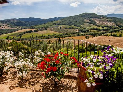 Photo for Apartment Allerona in Orvieto - 6 persons, 3 bedrooms
