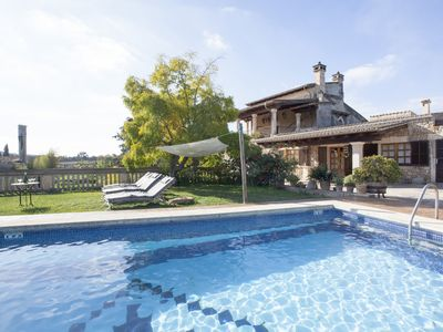 Photo for FARMHOUSE WITH POOL IN THE CENTER OF MAJORCA