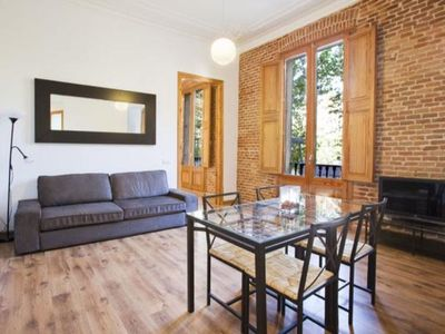 Photo for Apartment in the center of Barcelona with Lift, Internet, Washing machine, Air conditioning (1001372)