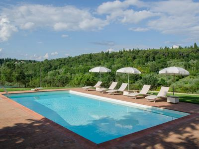 Photo for Walking distance to town,Panoramic,Private Pool, Wifi,Air Cond Superbly Equipped
