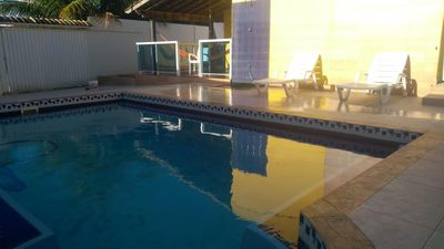 Photo for Guarapari Beach House with Pool and Barbecue Area - Nova Guarapari