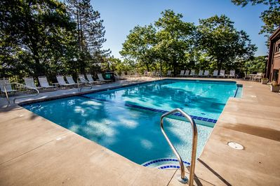 Children's Pool & Lap Pool Fun For  All Ages, Are Just Sit Back Sun & Fun!!