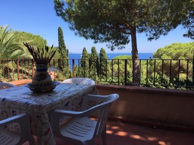 Photo for Renovated apartment with sea view Elba Island, Capo d'Arco