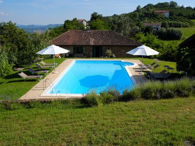 Photo for Panoramic luxury villa with 12x6 swimming pool, free wifi