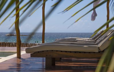 Photo for Paradise villas for Kitesurfers and family with pool & bar/restaurant!