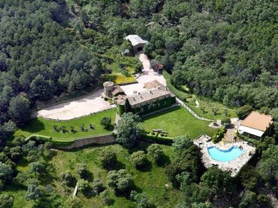 Photo for Exclusive and spectacular House in Nature, Toledo summer offer
