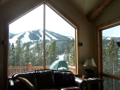 Amazing Views of Winter Park Ski Resort - Yes, this is our Living Room window.