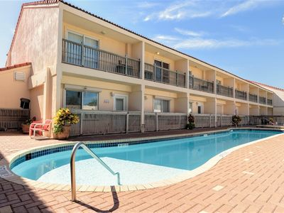 Photo for Dolphin 7: Affordable FAMILY townhome w/ POOL! Across the street from the BEACH!