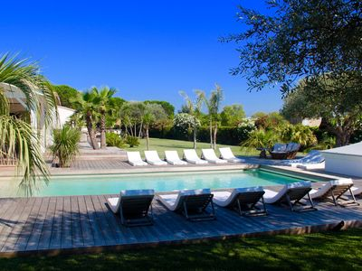 Photo for St Tropez very beautiful Villa of full foot, close beaches and village of St Tropez