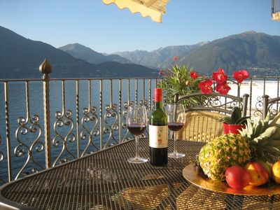 Photo for Private access to Lago Maggiore